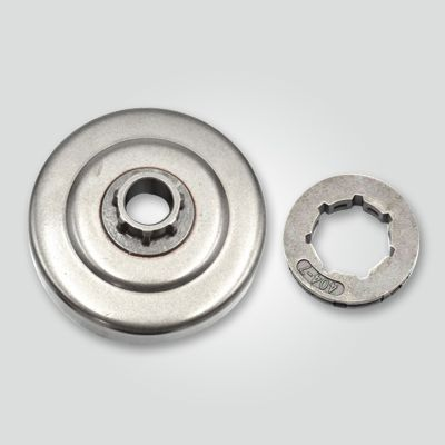 MS070_chain_sprocket_with_rim_for_garden_machinery_parts